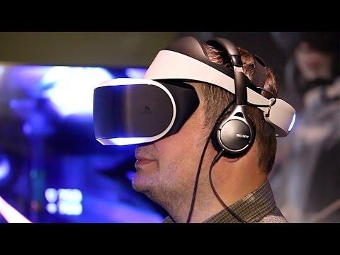 Sony Morpheus: Cyber-Brille PlayStation VR ausprobiert