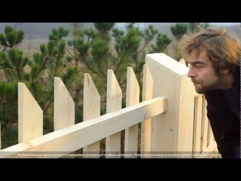 Sadolin - Film instruktażowy - malowanie płotu