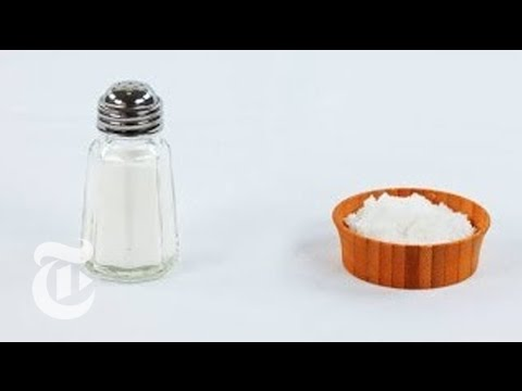 What's the Difference Between Table Salt and Sea Salt?