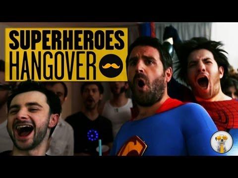 Que Paso Ayer de los SuperHeroes! (The Superhéroes Hangover