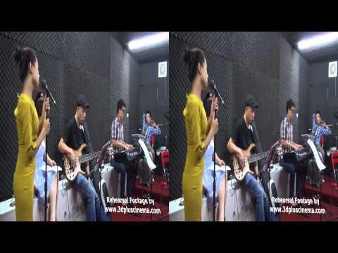[3D VIDEO] Hoàng Quyên, Hương Tràm - Mùa cây trổ lá 3D (On stage & Rehearsal)