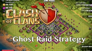 Clash Of Clans Ghost Raid Strategy (Pre-Attack Strategy