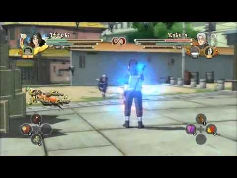 Naruto Storm 3 Anbu Itachi (Chunin Sasuke) vs. Kabuto (Kimimaro & Orochimaru)
