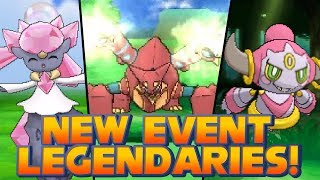 Pokémon X And Y New Event Legendary Pokémon: Diancie