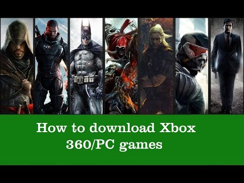 How to download Xbox 360 games for free on USB and play *June 2016*