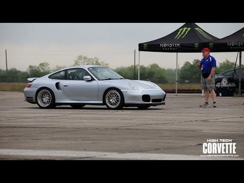 212mph Porsche - The Texas Mile 2012