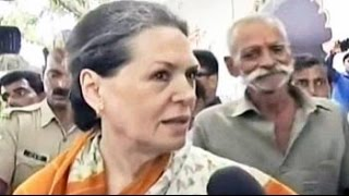Sonia Gandhi targets Narendra Modi's '100-day Government' on price rise
