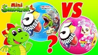5 Niespodzianek - Kule Niespodzianki Z Biedronki! Zabawki Bajki Dla Dzieci Po Polsku