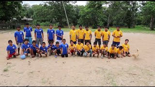 DFTBA Soccer game with Orphans in Peru