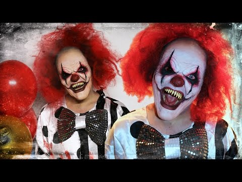 Evil Clown - Makeup Tutorial!