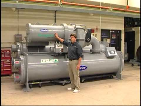 Water Cooled Condenser Centrifugal Chiller Overview