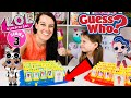 WE PLAY LOL SURPRISE GUESS WHO GAME SERIES 3 CONFETTI POP DOLLS DIY CUSTOM DOLL TOYS