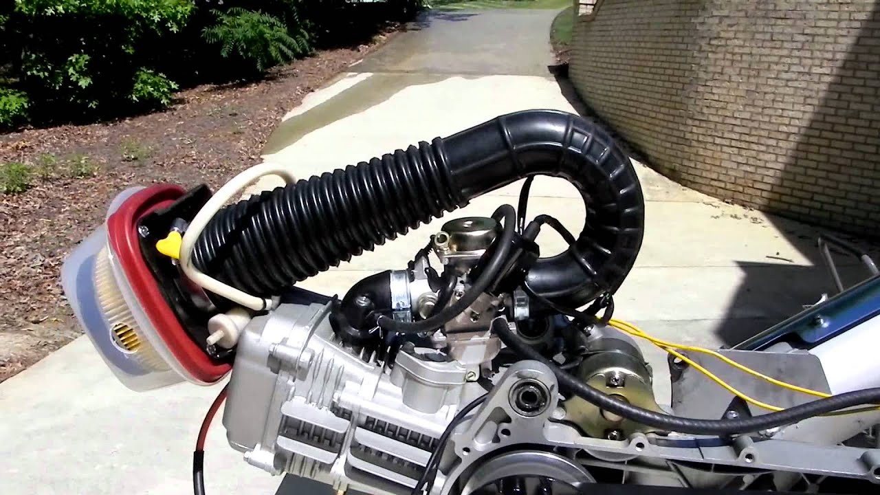 Gy6 Engine Bench Test Youtube