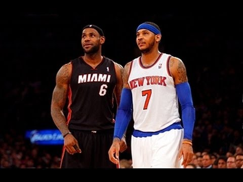 Career-High Comparison: Melo's 62 vs. LeBron's 61 Point Game