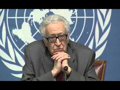 Syria \  Lakhdar Brahimi,Press Conference (Geneva, 27 January 2014)