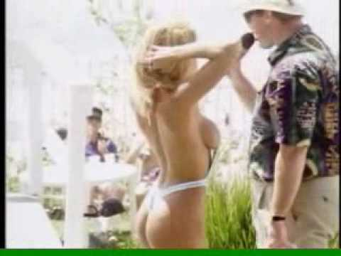 Old Bikini Contest With Hot Slingshot Bikini