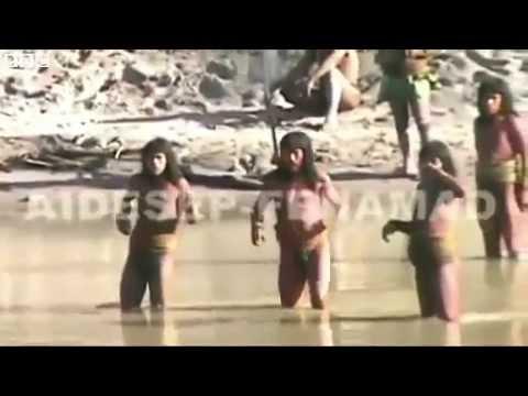 Изолированнное дикое племя Амазонки