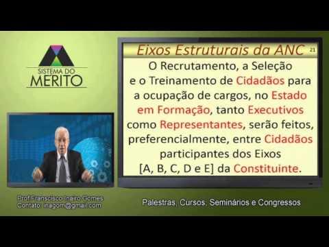 POL.13 - Eixos Estruturais da Assembleia Nacional Constituinte