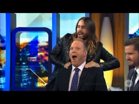Jared Leto - Highlight Funny Moments - 2013/2014