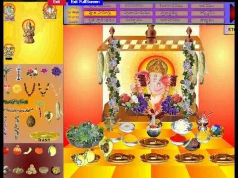 virtual ganesh pooja flash free download