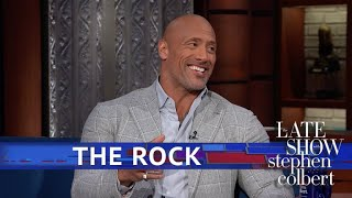 Dwayne Johnson And Stephen Drink Tequila, Compare Eyebrows