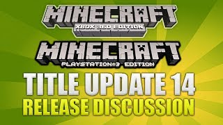 Minecraft Xbox 360/PS3: Title Update 14 Release Date