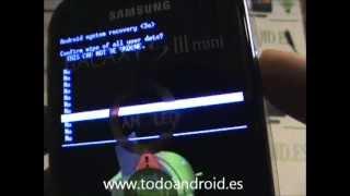 Resetear A Modo Fábrica El Samsung Galaxy S3 Mini