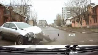 Подборка ДТП с видеорегистраторов 46 \ Car Crash compilation 46