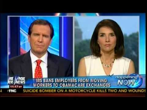 IRS Bans Employers From Moving Workers To Obamacare Exchanges - Happening Now