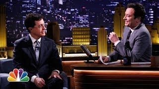 Who's Truthier, Stephen Colbert or Jimmy Fallon?
