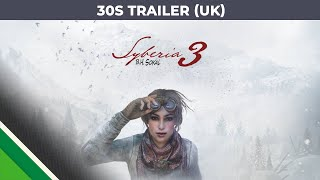 Syberia 3 - '30 Seconds' Trailer