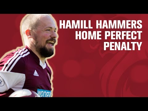 Hamill scores after controversial penalty award