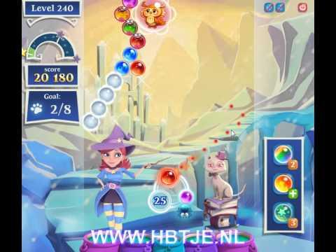 Bubble Witch Saga 2 level 240
