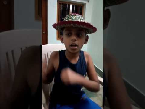 Justin Bieber song baby baby by a little Indian girl singing song for respected Justin Bieber 😊🎼🎼