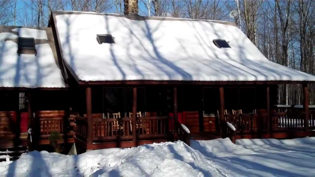 fryeburg maine north conway nh area log home for sale