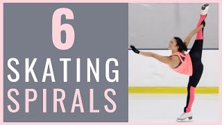 6 ICE SKATING SPIRALS FOR EVERY FIGURE SKATER