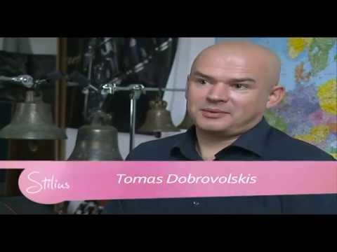 """LRT Televizijos laidos """"Stilius"""" vaizdo reportažas apie kompozitorių Tomą Dobrovolskį"""