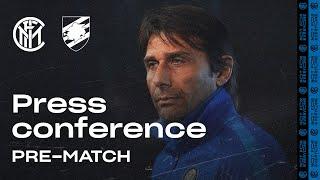 INTER vs SAMPDORIA | Antonio Conte Pre-Match Press Conference LIVE 🎙⚫🔵?? [SUB ENG]