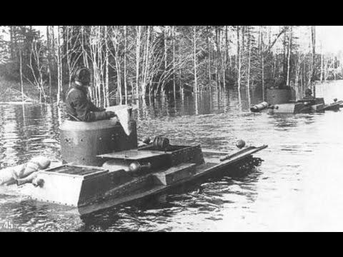 Xe tăng Nga ở dưới nước 70 năm vẫn chạy tốt !