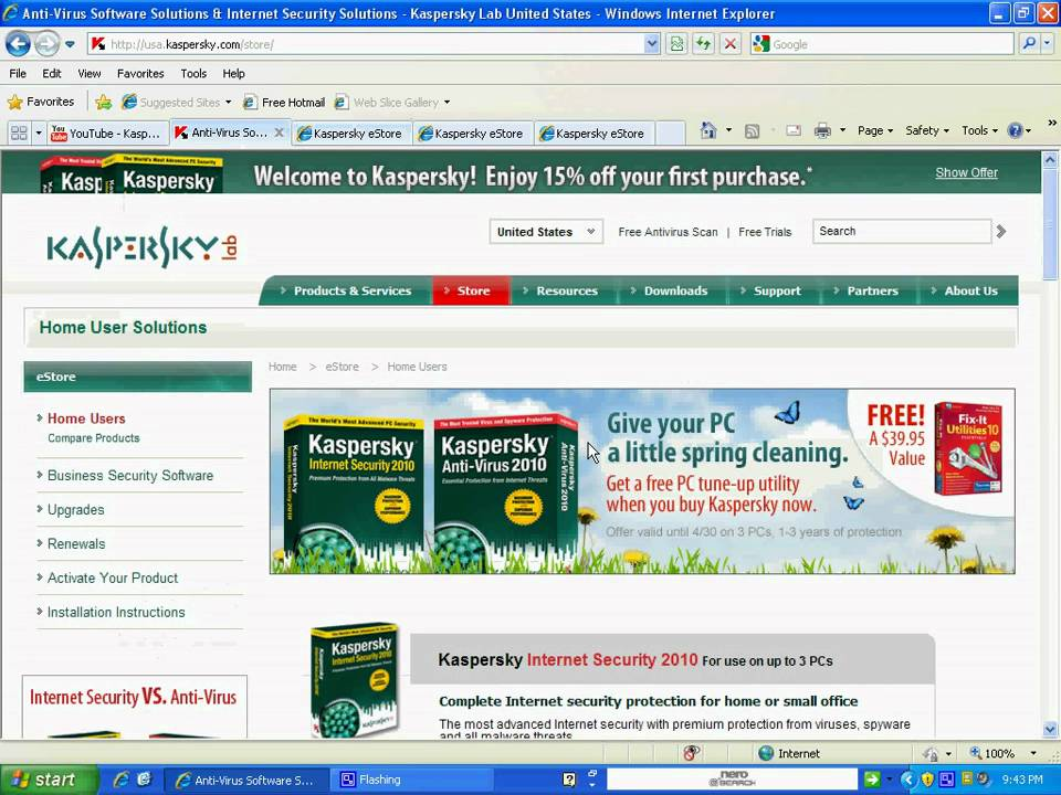 Kaspersky Anti-Virus combines reactive antivirus detection methods with the