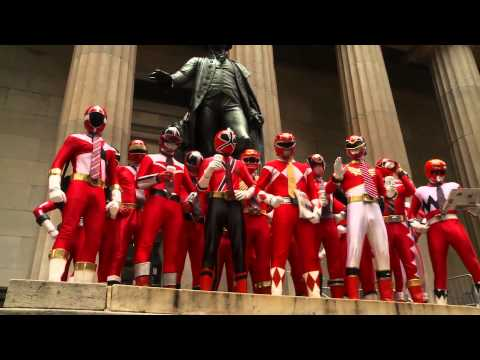 Power Rangers Celebrate 20th Anniversary in the Big Apple!, Watch the Power Rangers take over the Big Apple to celebrate their 20th Anniversary! Watch as they stop at iconic landmarks and shoot hoops with the New York...