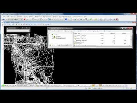 InRoads V8i Basics (Part 2 - Video) Surface Tools