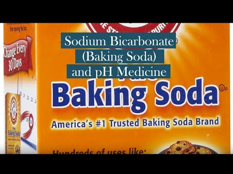 Sodium Bicarbonate and pH Medicine