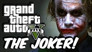 GTA 5 Joker MOD! (EPIC GAMEPLAY)