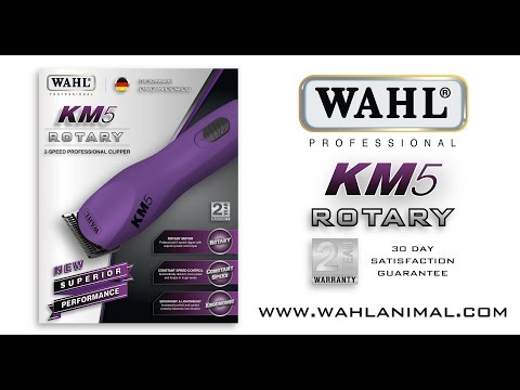 Wahl KM5 Corded Clipper - with extra #10 Blade!