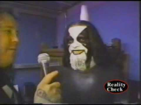 "Immortal on ""Reality Check TV"", Outtake from episode 277 back in 2002.Guitarist vocalist Abbath of Norwegian Black Metal band Immortal while they were on tour with Manowar. Reality Check TV..."