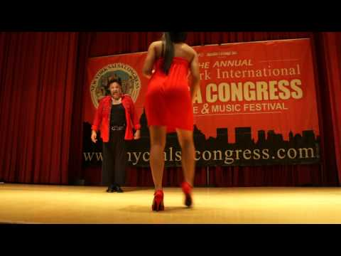 Eddie Torres &amp; Griselle Ponce workshop salsa on2 shines part2 @ NY Salsa Congress 2011