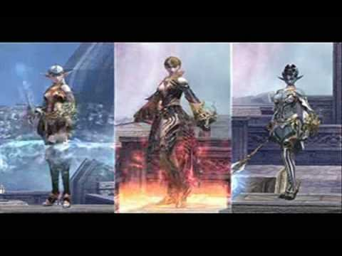 Lineage 2 Gracia Final видео.