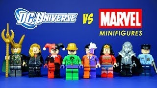 LEGO DC Universe Vs Marvel Superheroes Knock Off