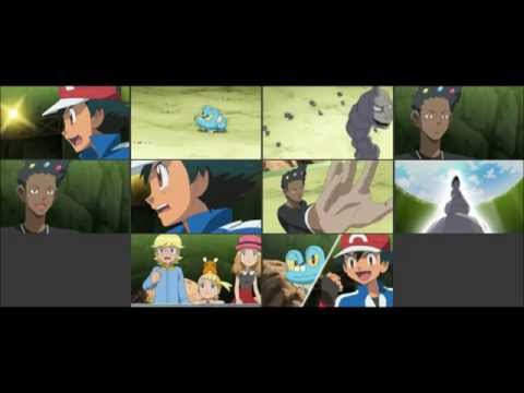 {Pokemon X and Y Series} Episode #828: The Cyllage Gym Match! Pikachu VS Tyrunt!!